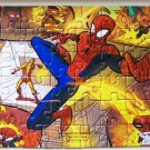 """Ultimate Spider-Man 5"""" x 7"""" 50 Piece Puzzle Loose Used"""