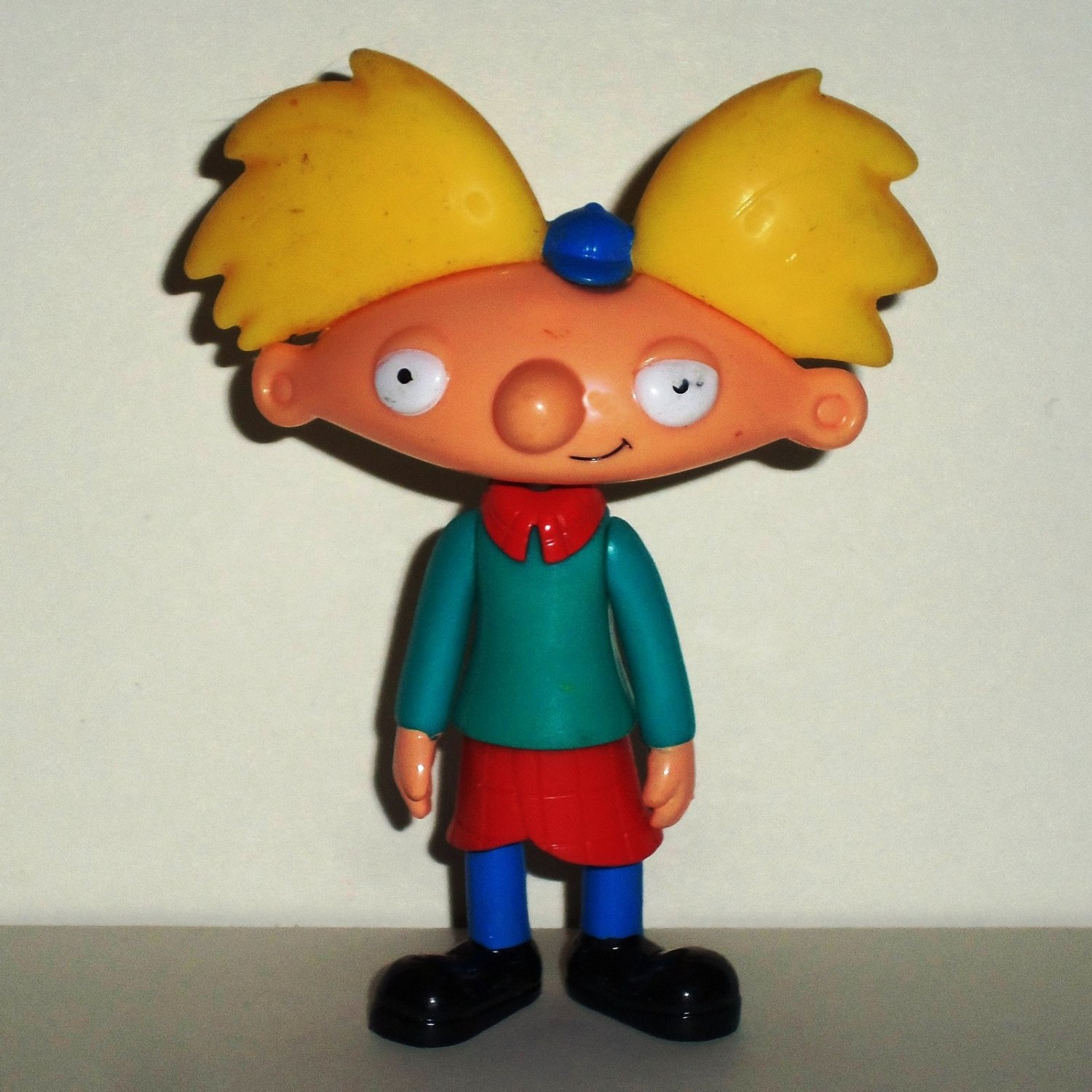 Wendy's 2003 Hey Arnold Action Figure Kids Meal Toy Loose Used