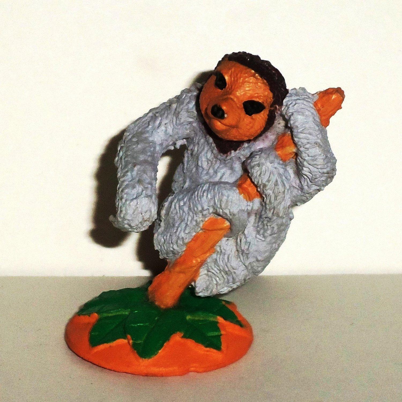 Wild Republic K&M Three Toed Sloth PVC Figure Loose Used