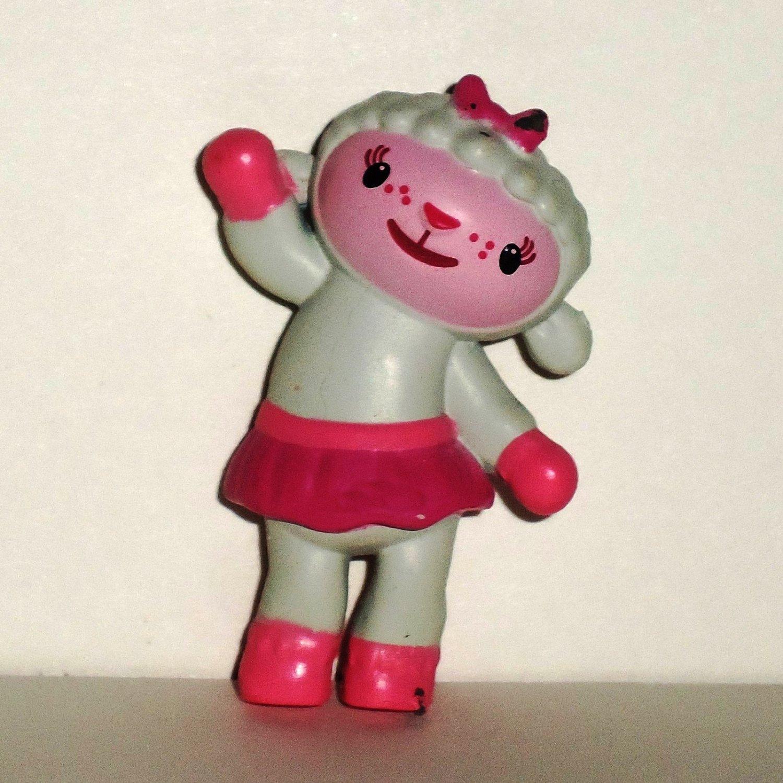 Disney Doc McStuffins Lambie PVC Figure Loose Used