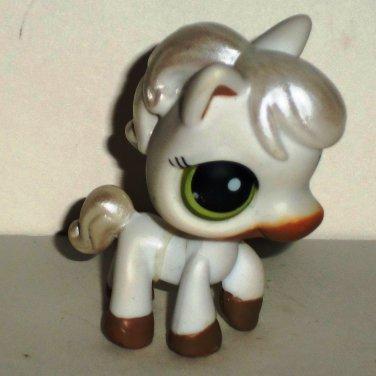 Littlest Pet Shop #338 Horse Figure Hasbro 2006 Loose Used