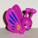 My Little Pony Purple Butterfly Figure from Glimmer Wings Daisy Dreams Set Hasbro 2012 Loose Used