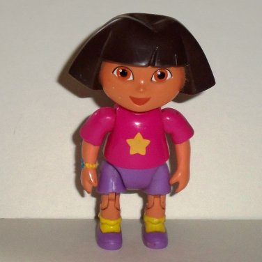 Fisher-Price Dora the Explorer Doll Figure Mattel 2006 K7338 Loose Used