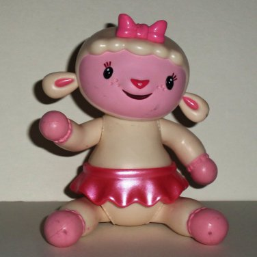 Disney Doc McStuffins Lambie Vinyl Figure Just Play Loose Used