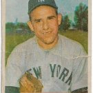 1954 Bowman Baseball Card #161 Yogi Berra Hew York Yankees Poor