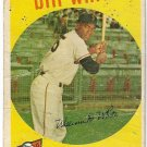 1957 Topps Baseball Card #359 Bill White RC San Francisco Giants Poor