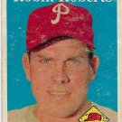 1958 Topps Baseball Card #90 Robin Roberts Philadelphia Phillies Poor