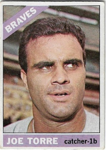 1961 Topps Baseball Card #130 Joe Torre Atlanta Braves Very Good