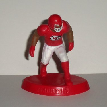 McDonald's 2014 Madden NFL 15 Kansas City Chiefs Figure Happy Meal Toy Loose Used