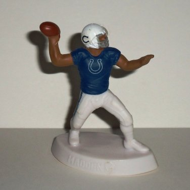 McDonald's 2014 Madden NFL 15 Indianapolis Colts Figure Happy Meal Toy Loose Used