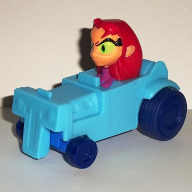 McDonald's 2017 Teen Titans Go Starfire No Stickers Happy Meal Toy Loose Used