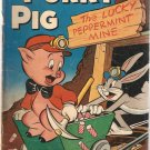 Four Color (1942 series) #342 Porky Pig Dell Comics July 1951 GD-
