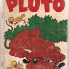 Four Color (1942 series) #595 Walt Disney's Pluto Dell Comics 1954 PR