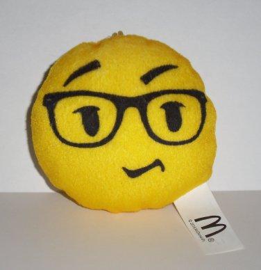 McDonald's 2016 Emoji Plush That's Genius Happy Meal Toy Loose Used