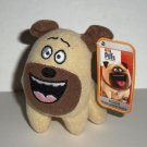 McDonald's 2016 Secret Life of Pets Mel w/ Tag Happy Meal Toy Loose Used