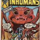 Inhumans (1975 Series) #7 Marvel Comics Oct 1976 FR
