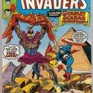 Invaders (1975 series) #25 Marvel Comics Feb 1978 VG