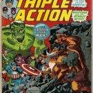 Marvel Triple Action (1972 series) #11 Avengers Marvel Comics June 1973 GD/VG