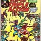 Marvel Triple Action (1972 series) #18 Avengers Marvel Comics May 1974 VG
