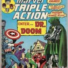 Marvel Triple Action (1972 series) #19 Avengers Marvel Comics July 1974 GD