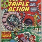 Marvel Triple Action (1972 series) #21 Avengers Marvel Comics Oct 1974 GD