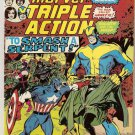 Marvel Triple Action (1972 series) #25 Avengers Marvel Comics Sept 1975 GD