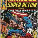 Marvel Super Action (1977 series) #8 Captain America Marvel Comics June 1978 VG
