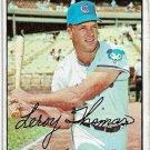 1967 Topps Baseball Card #458 Lee Thomas Chicago Cubs Fair