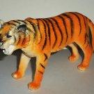 "S.H. 7"" Long Plastic Tiger Toy Animal Figure Loose Used Damaged"