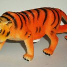 "6.5"" Long Plastic Tiger Toy Animal Figure Loose Used"