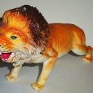 "9"" Long Plastic Lion Toy Animal Figure Loose Used"
