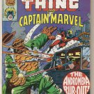 Marvel Two-in-One (1974 series) #45 Thing Captain Marvel Marvel Comics Nov 1978 GD