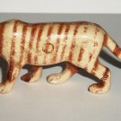 Bergen Toy & Novelty Co. Tiger Plastic Animal Figure Loose Used