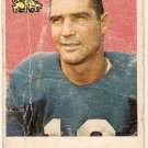 1959 Topps Football Card #170 Toban Rote Detroit Lions Poor