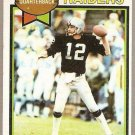 1979 Topps Football Card #520 Ken Stabler Oakland Raiders EX