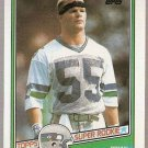 1987 Topps Football Card #144 Brian Bosworth RC Seattle Seahawks NM A