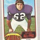 1976 Topps Football Card #230 Ed White RC Minnesota Vikings EX-MT