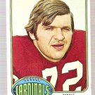 1976 Topps Football Card #326 Dan Dierdorf St. Louis Cardinals GD