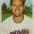 1954 Bowman Baseball Card #35 B Eddie Joost Quiz Answer 33 Philadelphia Athletics GD