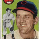 1954 Topps Baseball Card #92 Wally Westlake Cleveland Indians GD