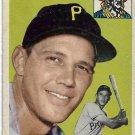 1954 Topps Baseball Card #95 Hal Rice Pittsburgh Pirates GD