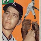 1954 Topps Baseball Card #118 Carl Scheib Philadelphia Athletics GD