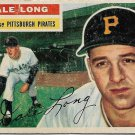 1956 Topps Baseball Card #56 Dale Long Pittsburgh Pirates FR