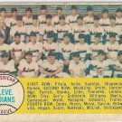 1958 Topps Baseball Card #158 Cleveland Indians Checklist FR