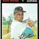 1971 Topps Baseball Card #120 Willie Horton Detroit Tigers VG