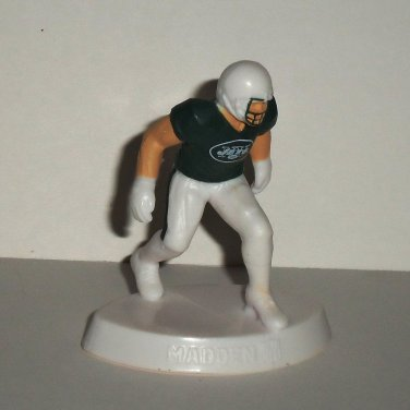 McDonald's 2014 Madden NFL 15 New York Jets Figure Happy Meal Toy Loose Used