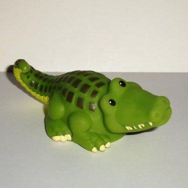 Fisher-Price Little People #BGN55 Alligator Figure Mattel 2011 Loose Used