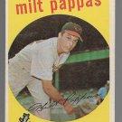 1959 Topps Baseball Card #391 Milt Pappas Baltimore Orioles GD
