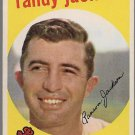 1959 Topps Baseball Card #394 Randy Jackson Cleveland Indians GD