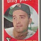 1959 Topps Baseball Card #410 Billy Pierce Chicago White Sox GD A